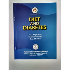 DIET AND DIABETES by RAGHURAM SWARAM PASRICHA RD SHARMA in english