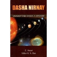 Dasha Nirnay Vimshottari Dasha Mystery in English by Z Ansari