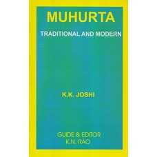 Muhurta Traditional and Modern by K.K. Joshi in english